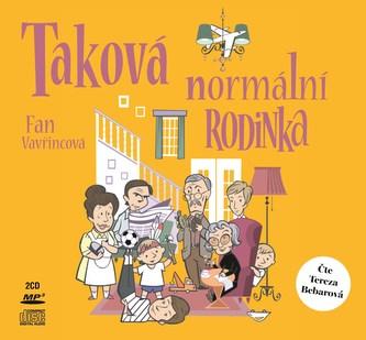 Taková normální rodinka (audiokniha) - Fan Vavřincová