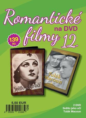 Romantické filmy 12 - 2 DVD - neuveden