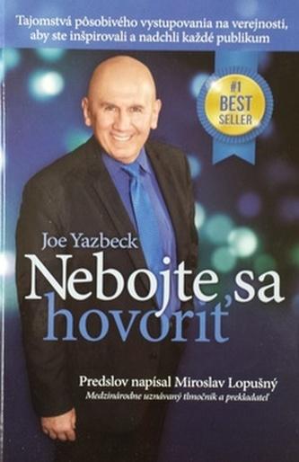 Nebojte sa hovoriť - Joe Yazbeck