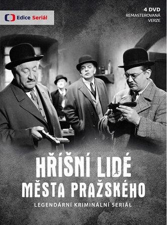 Edice České televize - Hříšní lidé Města pražského (reedice) - 4 DVD