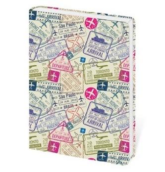 Stil trade s.r.o. - Zápisník Lyra Travel - linkovaný S
