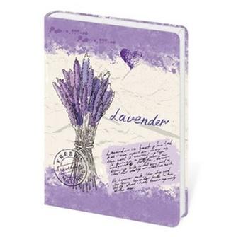 Stil trade s.r.o. - Zápisník Lyra Lavender - linkovaný M