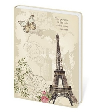 Zápisník Lyra Paris - linkovaný S
