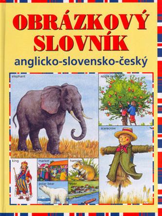 Obrázkový slovník anglicko - slovensko - český - Linda Perina