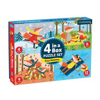 Puzzle 4 in the box:4 season/Puzzle 4 v 1: Čtyři roční období - neuveden
