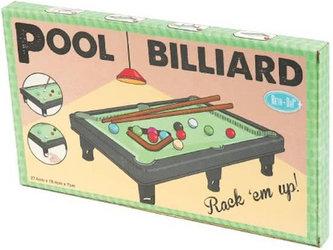 Retro: Pool Billiard/Stolní kulečník - neuveden