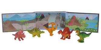 Tribe of dinosaurus/Dinosauři figurky 6 ks - Tiger Tribe