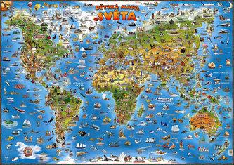 Dětská mapa světa - neuveden