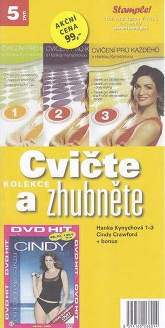 Cvičte a zhubněte - 5 DVD - Klimeš Petr - Levné knihy, CD, DVD