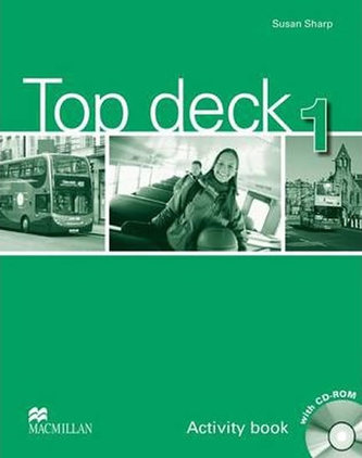 Top deck 1: Activity Book with CD Rom - Sharp Susan