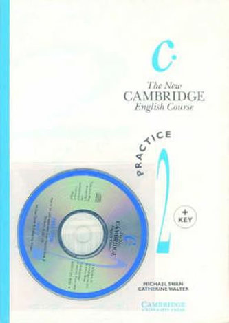 The New Cambridge English Course 2: Practice Book with Key plus Audio CD pack - Swan Michael