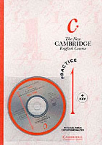 The New Cambridge English Course 1: Practice Book with Key plus Audio CD pack - Swan Michael