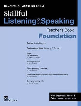 Skillful Listening & Speaking: Foundation Teacher´s Book + Digibook + Audio CD - Zemach, Doroth