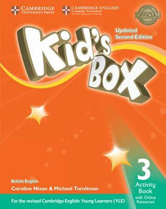 Kid´s Box 3 Updated 2nd Edition: Activity Book - Caroline Nixon, Michael Tomlinson