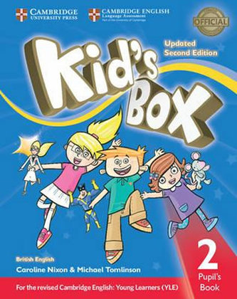 Kid´s Box 2 Updated 2nd Edition: Pupil´s Book - Caroline Nixon, Michael Tomlinson