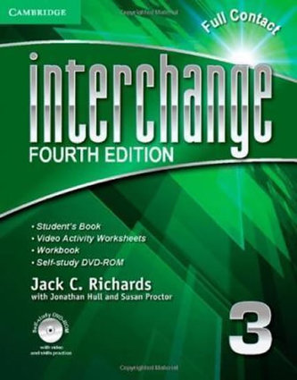 Interchange Fourth Edition 3: Full Contact with Self-study DVD-ROM - Richards, Jack C.