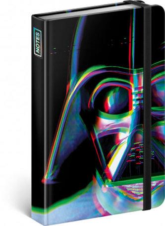Notes - Star Wars – Vader, linkovaný, 10,5 x 15,8 cm