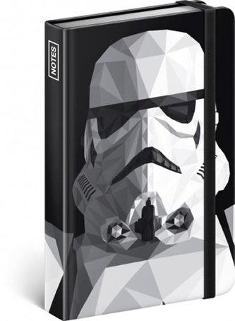 Notes - Star Wars – Clone, linkovaný, 10,5 x 15,8 cm