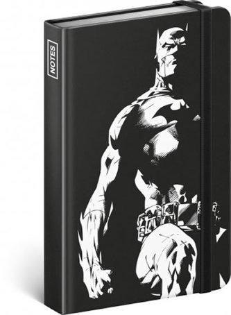 Notes - Batman – Dark Knight, linkovaný, 10,5 x 15,8 cm - neuveden