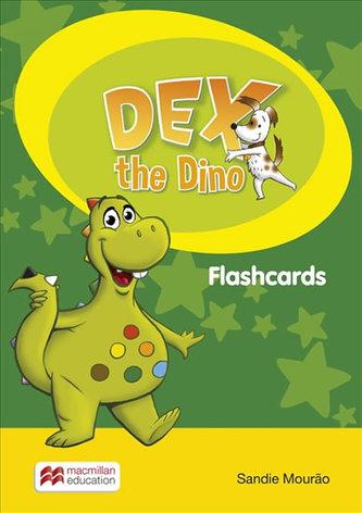 Dex the Dino: Flashcards - Mourao Sandie