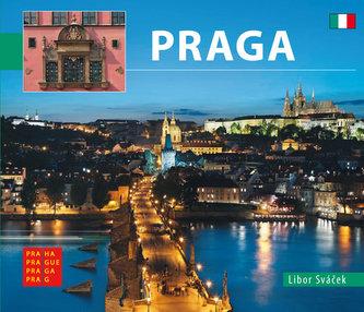 Praha - malá/italsky - Sváček Libor