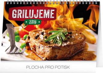Kalendář stolní 2019 - Grilujeme, 23,1 x 14,5 cm - neuveden