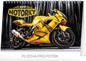 Kalendář stolní 2019 - Motorky, 23,1 x 14,5 cm - neuveden