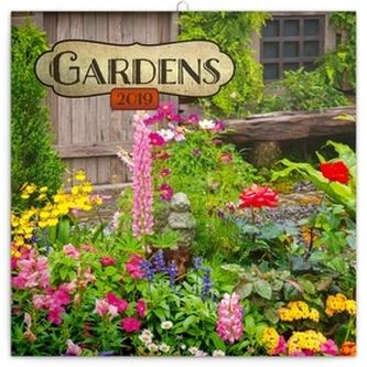 Poznámkový kalendář Zahrady 2019, 30 x 3 - neuveden