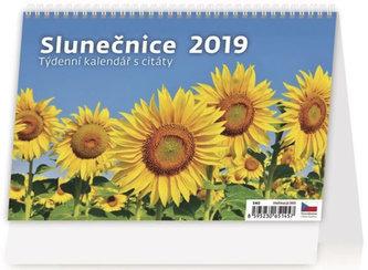 Kalendář stolní 2019 - Slunečnice - neuveden