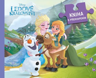Ledové království - Kniha s překvapením - kolektiv