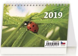 Kalendář stolní 2019 - Týdenní S - neuveden