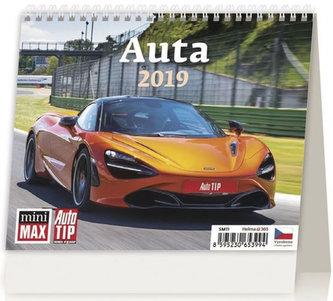 Kalendář stolní 2019 - Minimax Auta - neuveden