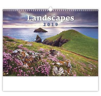 Kalendář nástěnný 2019 - Landscapes - neuveden