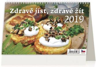 Kalendář stolní 2019 - Zdravě jíst, zdravě žít - neuveden