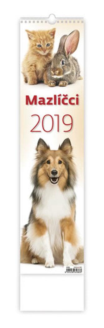 Kalendář nástěnný 2019 - Mazlíčci - neuveden