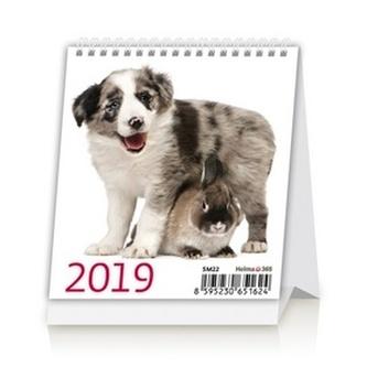 Kalendář stolní 2019 - Mini Pets - neuveden
