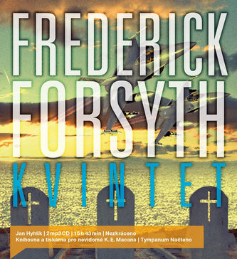 Kvintet - 2 CDmp3 (Čte Jan Hyhlík) - Frederick Forsyth