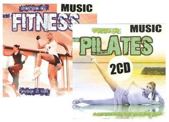 Music Pilates + Music Fitness - 2 CD - neuveden