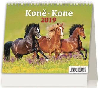 Kalendář stolní 2019 - MiniMax Koně/Kone - neuveden