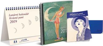 Lunární kalendář Krásné paní 2019 - Kanyzová Žofie