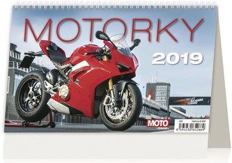 Kalendář stolní 2019 - Motorky ČR/SR - neuveden