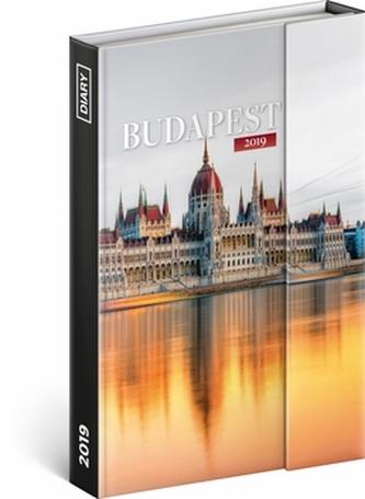 Týdenní magnetický diář Budapešť 2019, 1 - neuveden