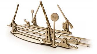 Dřevěný mechanický model Koleje