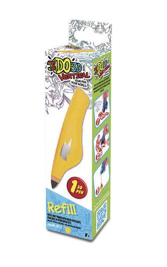 IDO3D Vertical: náhradní náplň - žlutá - neuveden