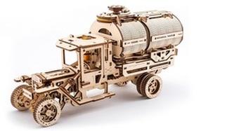 Dřevěný mechanický model Tanker
