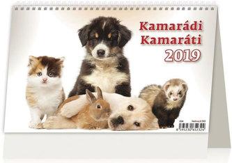 Kalendář stolní 2019 - Kamarádi/Kamaráti - neuveden