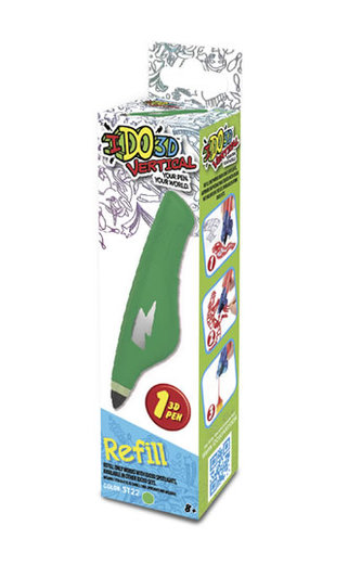 IDO3D Vertical: náhradní náplň - zelená - neuveden