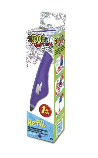 IDO3D Vertical: náhradní náplň - fialová - neuveden