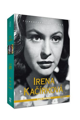 Irena Kačírková - Zlatá kolekce - 4 DVD - neuveden