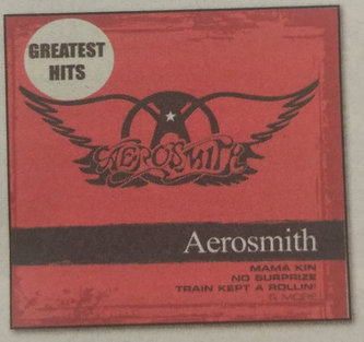 Aerosmith compilation - Greatest Hits - CD - neuveden